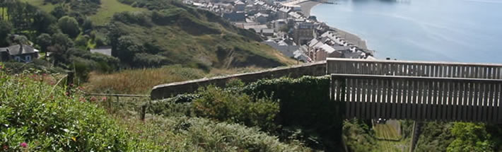 walk the cliff railway pathway